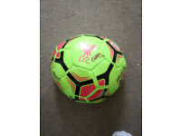 New Liverpool FC ladies Squad Signed Ball with Autographs!
