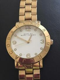 Marc by Marc Jacobs gold plated watch