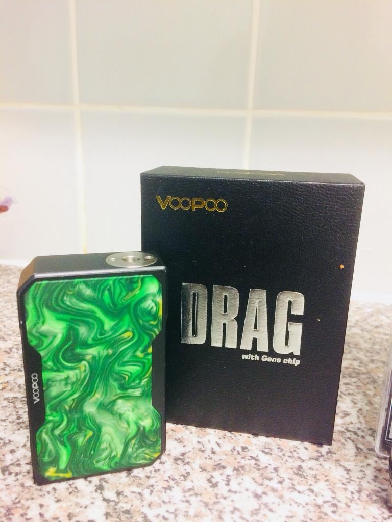 Voopoo drag full set up