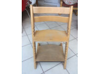 Stokke Tripp Trapp chair - natural wood