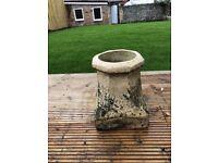 3 Victorian Garden Pots