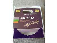 HOYA Infrared filter - 62mm - brand new