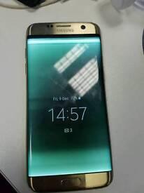 Samsung s7 edge gold spares