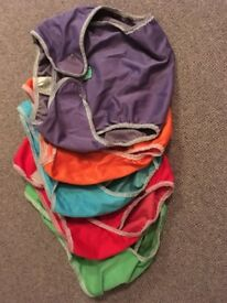 Washable nappies bundle (mainly Totsbots)