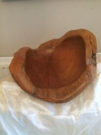 Beautiful solid wood bowl