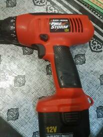 Drill 12v fully working order come with charger