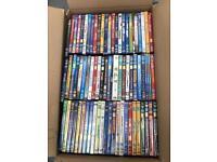 Mixed Disney DVD 150 job lot ideal refurb stock (c)