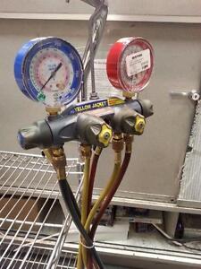 Yello Jacket Refrigeration Gauge. We sell used Tools. (#35384)