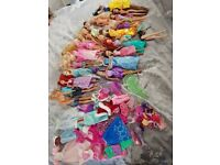 Barbie dolls inc 2 Ken dolls and extra clothes and accessories