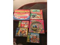 7 VARIOUS KIDS GAMES £10