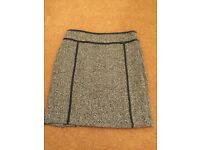 M and S Limited Edition gorgeous contemporary tweed skirt tweed skirt