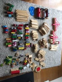 Wooden Train Set (excellent condition)