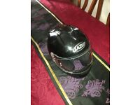 2 motorcycle helmets good condition med/small