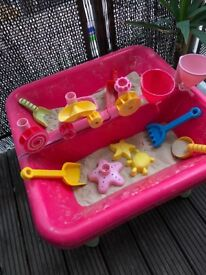 Elc sand and water outdoor play table