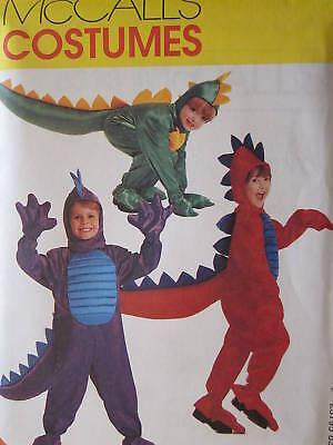 8333 McCalls SEWING Pattern Dinosaur DRAGON Halloween Costume  FF OOP SEW FF