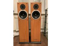 Wharfedale RB-25 speakers.