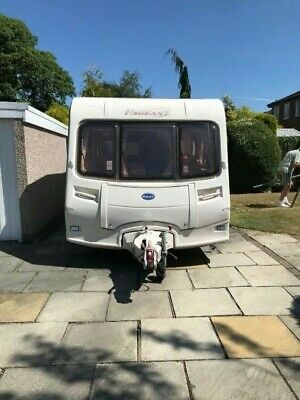 Bailey Pageant Series 5 Bordeaux 4 berth rear fixed bed 2005