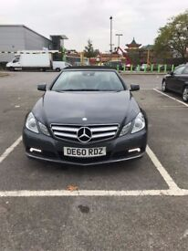 Mercedes E350 CDi, Automatic Convertible, fully loaded mot 06/18 1-owner