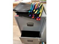2 Drawer A4 Filing Cabinet For Sale