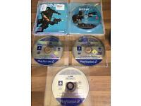 PlayStation 2 & 3 games