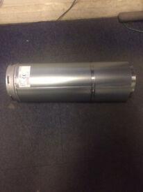 Schiedel Adjustable Pipe - 125 x 450mm