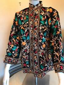 Ethnic embroidered coat
