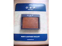 Unwanted Gift. Men's Osprey Leather Wallet