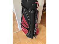 Wilson golf bag (red and black)