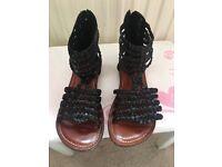 Girls next sandals