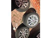 Fiat punto grande/bravo etc alloy wheels
