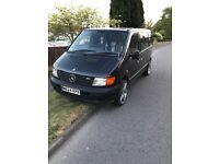 Black Diesel Van Mercedes Vito