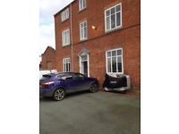 One bed ground floor flat to let. No deposit required.