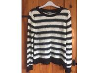 Limited Edition (M&S) Striped Jumper (size 10)
