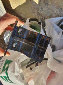 Hargreves black cast iron gutter fittings