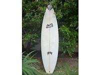 "Surfboard Lost Collectors Chris Wards shaped by Matt Biolos 6'1"" 18.63"" 2.32"" SDIII"