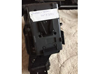 Canon xl h1 v mount battery bracket