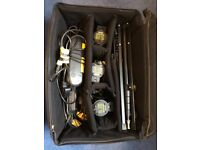 Dedolight: 3-Light kit: DHL4 (inc: individual Dimmers / 3 x Tripods / pro Carry-case)