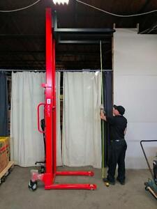 HOC ST22 - PALLET STACKER HAND STACKER LIFT TRUCK + 1 YEAR WARRANTY + FREE SHIPPING