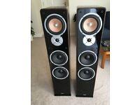 Hifi-Quality Floor Standing Speakers, Teufel Ultima 60, 120 Watt, 4 Ohm