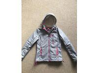 Ladies Superdry Windbreaker Coat Size Medium