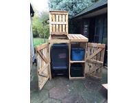 Bin & recycling storage