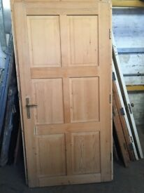 Extra wide Wooden door and frame ( suitable for wheelchair)