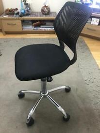 Gas lift adjustable comp chair