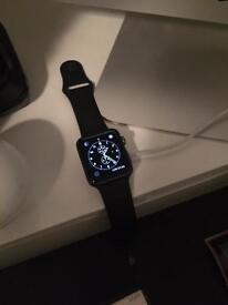 Apple Watch 42mm - Space Grey ( Black ) with HiRise charging stand