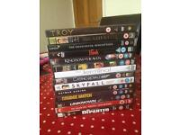 Famous collection of DVDs