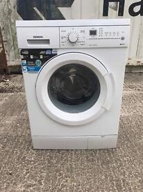 Siemens washing machine 8kg