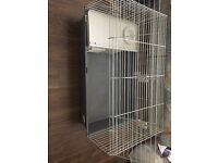 Rabbit cage indoor with extras