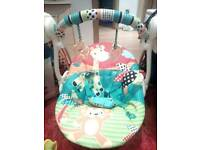 Bright Starts Up, Up and Away Baby Portable Swing + 3 in 1 Baby Centre