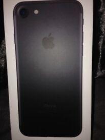 iPhone 7 new in box unused £380 O.N.O