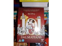 "Disney's 101 Dalmatians Platinum Collectors Edition "" Discs plus Book and Puppy Ideal for Christmas"